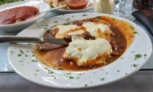 VF Pizza - Veal Saltimbocca
