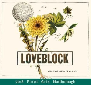 Loveblock - Pinot Gris 2018