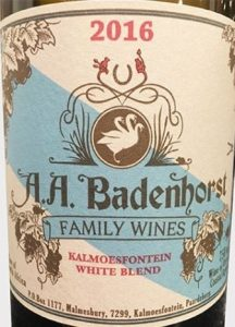 A.A. Badenhorst Family Wines - 2016 White Blend