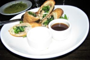 Antika - Roast Pork & Broccoli Rabe Eggroll