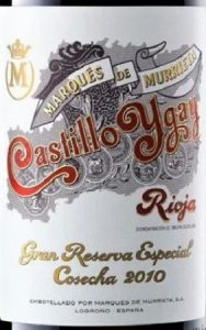 Marques de Murrieta Gran Reserva 2010