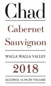 Chad Cabernet Sauvignon Walla Walla Valley 2018