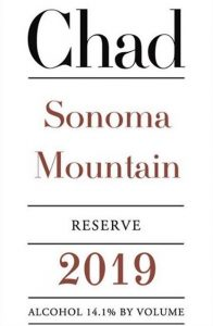 Chad Sonoma Mountain Reserve 2019