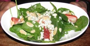 Seaons 52 - Spinach & Strawberry Salad