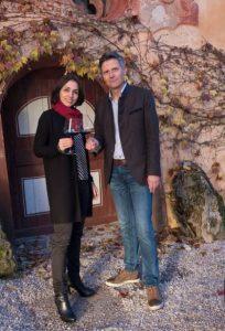 Tiefenbrunner Winery - Owners Christof & Sabine