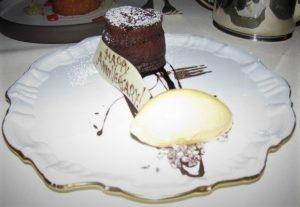 Vetri Cucina - Choc Polenta Souffle