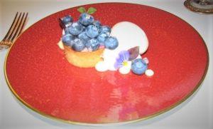 Bas Rouge - Blueberry Almond Tart