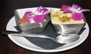 Indeblue - Coconut Gulab Jamun & Caramelized Mango Kheer 2