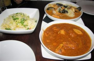 Indeblue - Seafood Coconut Rasam & Catani