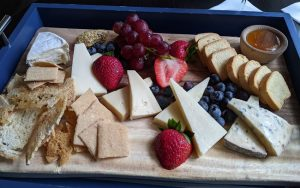 Inn at Perry Cabin - Cheeseboard from Purser's Pub