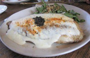 Blue Elphant - Flounder stuffed w Crabmeat