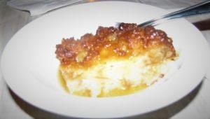 Fattoush - Bread Pudding