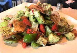 Fattoush - Fattoush Salad